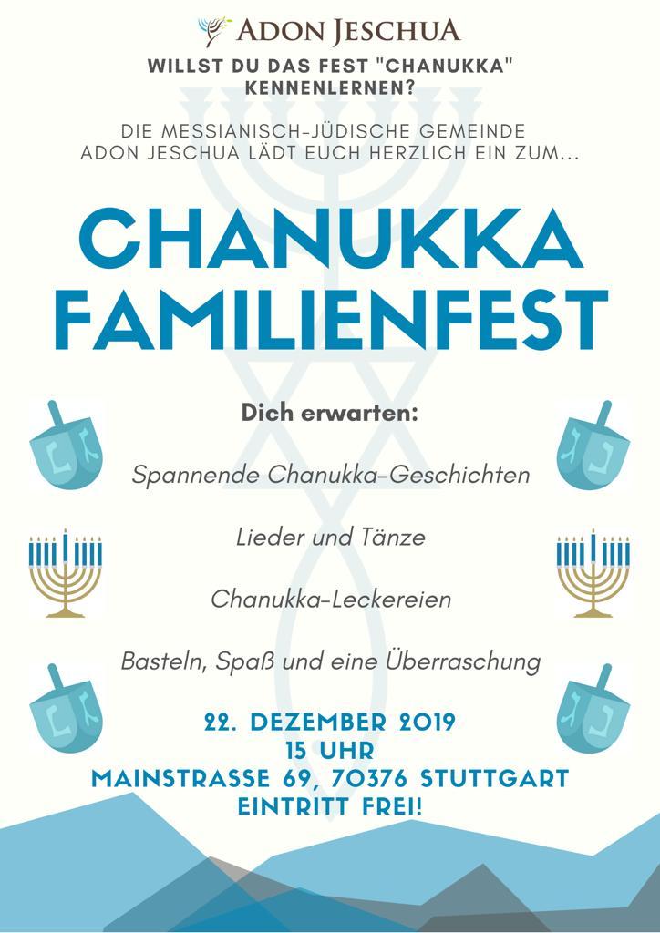 Chanukkar Familienfest