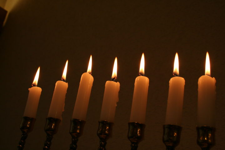 Менора Свечи
